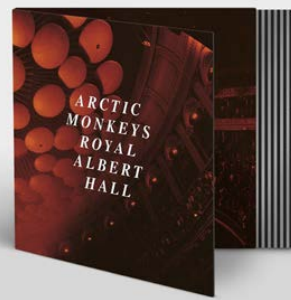 "ARCTIC MONKEYS LIVE AT THE ROYAL ALBERT HALL (Transparent ""CLEAR"" coloured heavyweight (180g) 12"" vinyl w/t labels)"