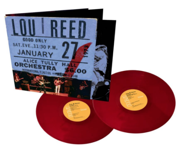"""Lou Reed """"Live At Alice Tully Hall - January 27, 1973 - 2nd Show"""" 2 x 2LP (Burgundy Vinyl)"""