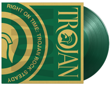 VARIOUS ARTISTS RIGHT ON TIME - TROJAN ROCK STEADY (COLOURED VINYL)