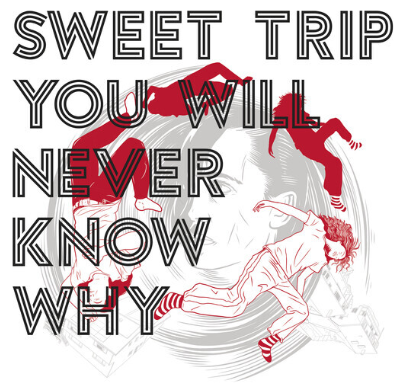 Sweet Trip You Will Never Know Why (Coke Bottle Green/ Transparent Purple)