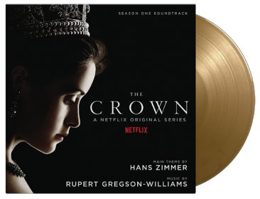 MUSIC BY HANS ZIMMER & RUPERT GREGSON-WILLIAMS THE CROWN SEASON 1 (OST)