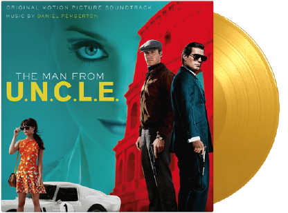 Various THE MAN FROM U.N.C.L.E. (YELLOW COLOURED VINYL)