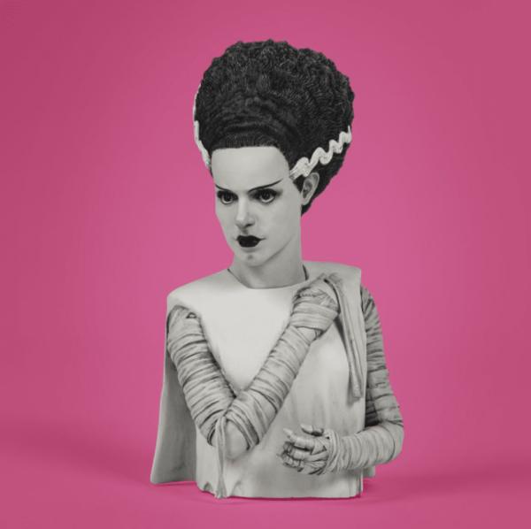 Waxwork The Bride of Frankenstein Spinature