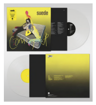 SUEDE COMING UP (25TH ANNIVERSARY EDITION Lp Clear)