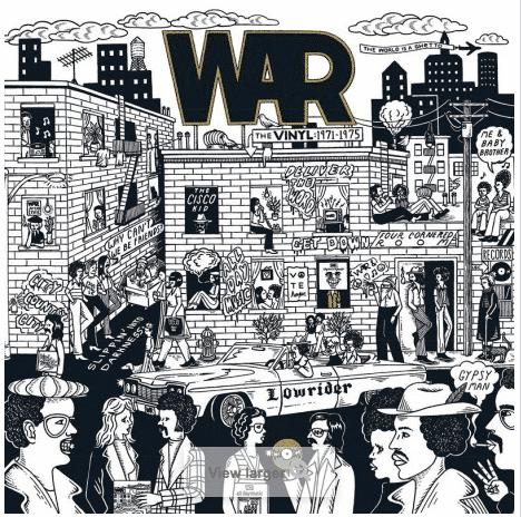 War - The Vinyl: 1971-1975 - Boxset Vinyl 5LP - RSD 2021 - Funk Soul - Disquaire Day