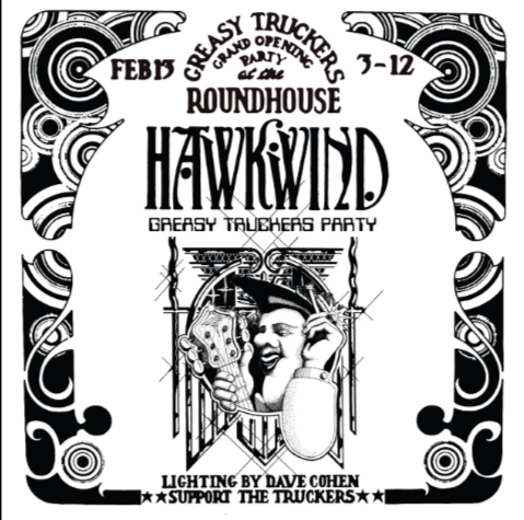 Hawkwind Greasy Tuckers Party