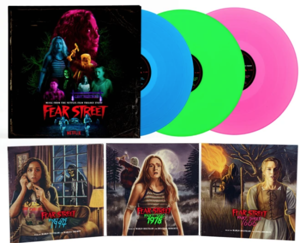 FEAR STREET: PARTS 1-3 Music From The Netflix Horror Trilogy Event