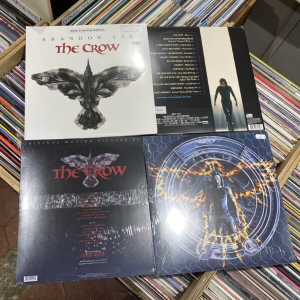 Graeme Revell The Crow (Original Motion Picture Score + Various - The Crow)